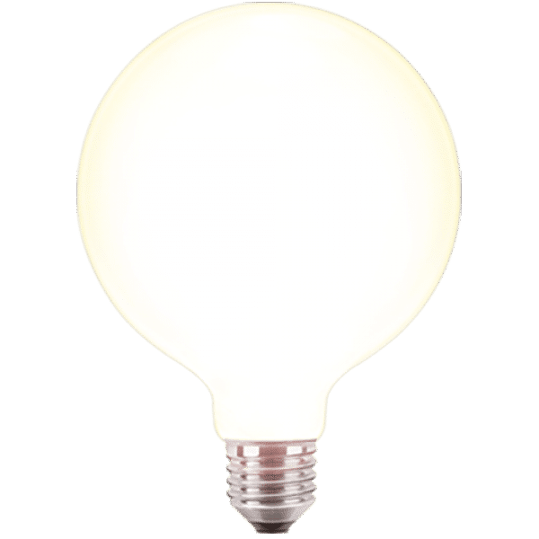 led filament gl hfaden globelampe 125mm 4 watt 470 lumen. Black Bedroom Furniture Sets. Home Design Ideas