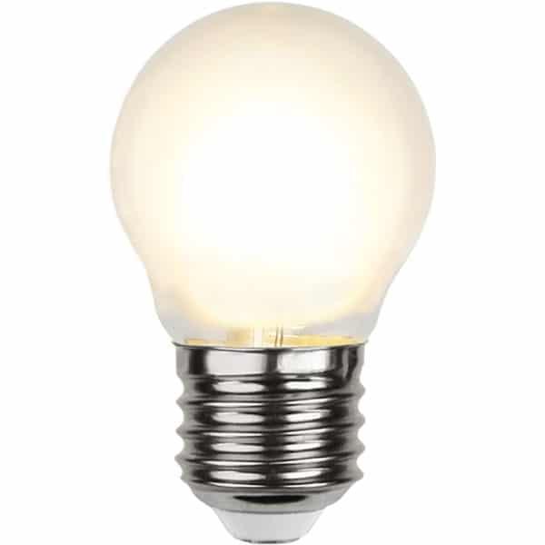 Led Filament Gefrostet 4 Watt 450 Lumen Ersetzt 39 Watt Warmweiß